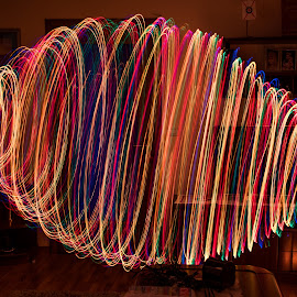 by Krsto Vulović - Abstract Light Painting ( light paiting, art )