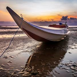 Bangkah - Bangkah by Daimasara Abdullah - Transportation Boats