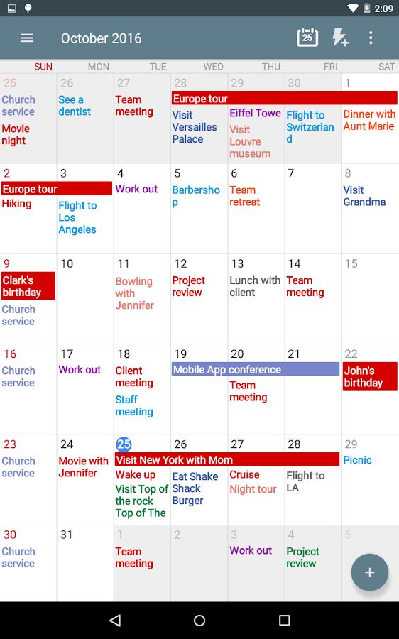 Calendar+ Schedule Planner Screenshot 10