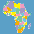 Africa Map Puzzle APK for Bluestacks