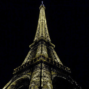 EiffelTower by Andrew Halpern - Buildings & Architecture Statues & Monuments