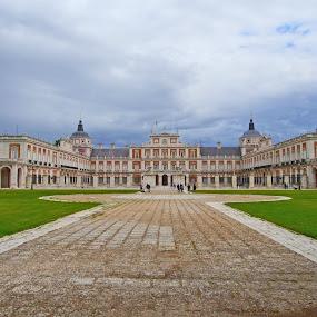 Aranjuez Royal Palace II by Joatan Berbel - Buildings & Architecture Other Exteriors ( palace, spain, vista, royal, colorful, street photography )
