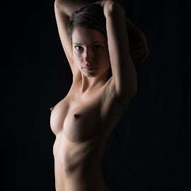 K by Justin Case - Nudes & Boudoir Artistic Nude ( nude, lighting, naked, woman, portrait )