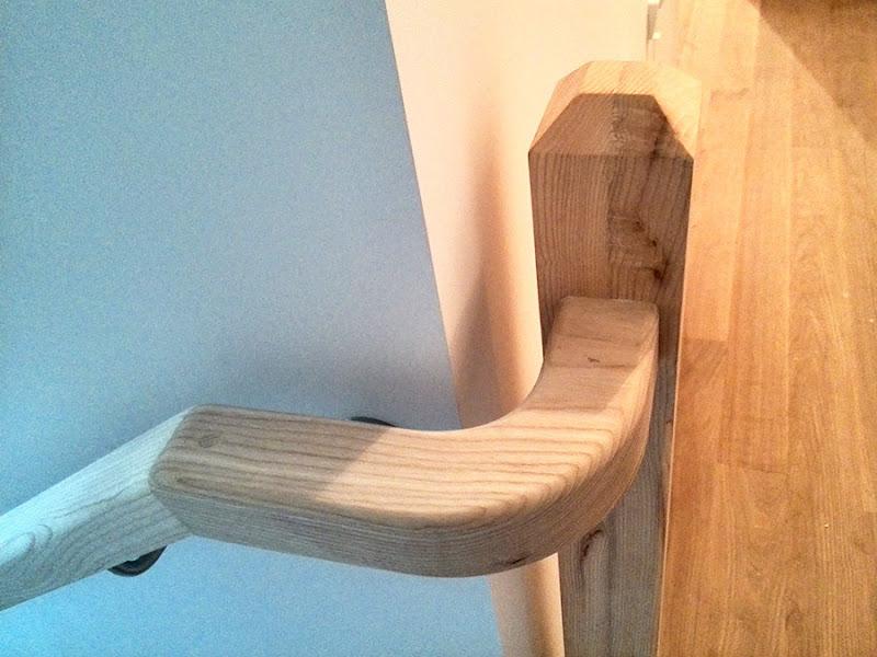 Escalera Iñigo Trápaga Estructuras y Carpintería