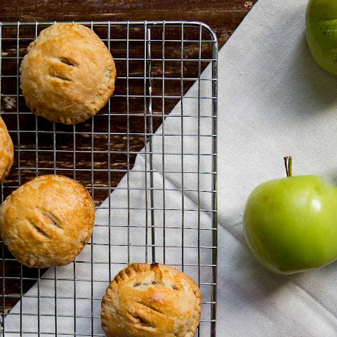 Brie, Pecan And Apple Hand Pies