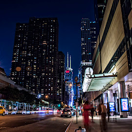 New York by Alessandro Photography - City,  Street & Park  Street Scenes ( shoot, night, nyc, landscapes, landscape, photo, city )
