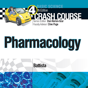 Cover art Crash Course: Pharmacology, 4e