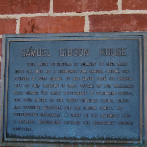 This brick structure is thought to have been built ca. 1805 as a residence for Samuel Gibson, the founder of Port Gibson. It was moved from its original site to this location in 1980. Typical of the ...