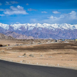 Way to LADAKH by Puneet Dutta - City,  Street & Park  Skylines