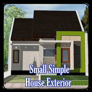 Небольшой простой дом Внешний