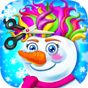 Snowman Hair Styles Salon Game