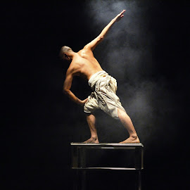 Half Man Half Myth by Joni Chng - People Musicians & Entertainers ( performance, motion, human body, dancer, man )