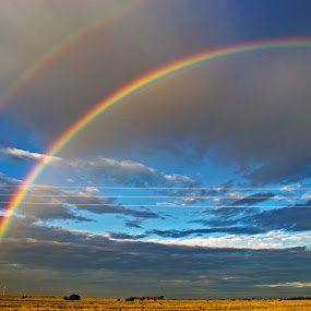 Rainbow. by Dave Ross - Landscapes Weather