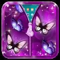 App Butterfly Zipper Lock Screen APK for Kindle