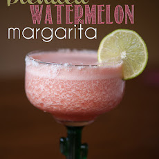 Blended Watermelon Margarita