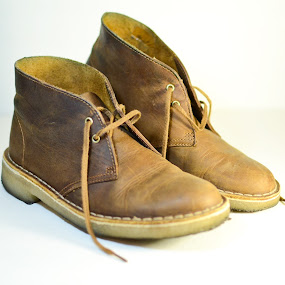 Boots  by Sawyer Jones Photography  - Products & Objects Industrial Objects ( sawyer jones, blank background, shoes, studio, stock, continuous lighting, d7000, brown, photography, boots )