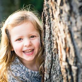 amanda by Aaron Taylor - Babies & Children Children Candids ( tree, children, candid, smile, portrait )