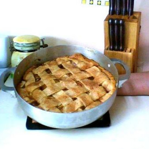Apple-Pear Pie Ala Mode