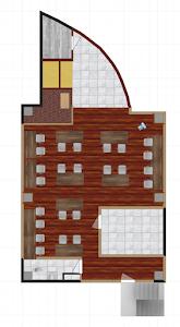 デザイン案2平面図