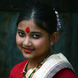 Banyashree by Asif Bora - Babies & Children Child Portraits