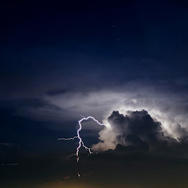 Lightning2 by Kwang Chew Low - Landscapes Weather ( nature, lighting, weather, electric storm, landscape )