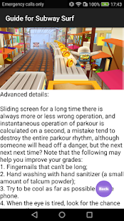 Guide for Subway Surf