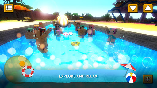 Water Park Craft: Waterslide Building Adventure 3D For PC