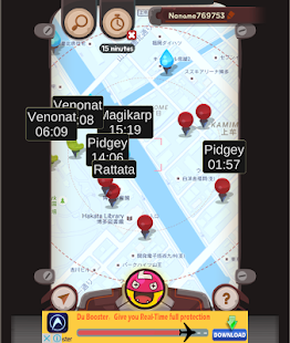 Live Map - for Pokemon GO- screenshot thumbnail