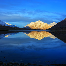 Sunrise at Shandur lake by Aamer Rabbani - Landscapes Sunsets & Sunrises