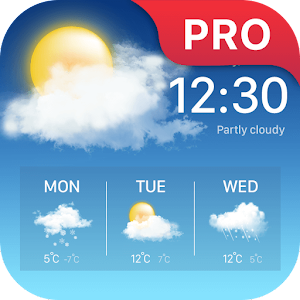 Weather forecast Pro App