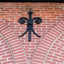 Building Detail by Eva Pastor - Buildings & Architecture Architectural Detail ( brick, architectural detail, iron work, brick work, iron )