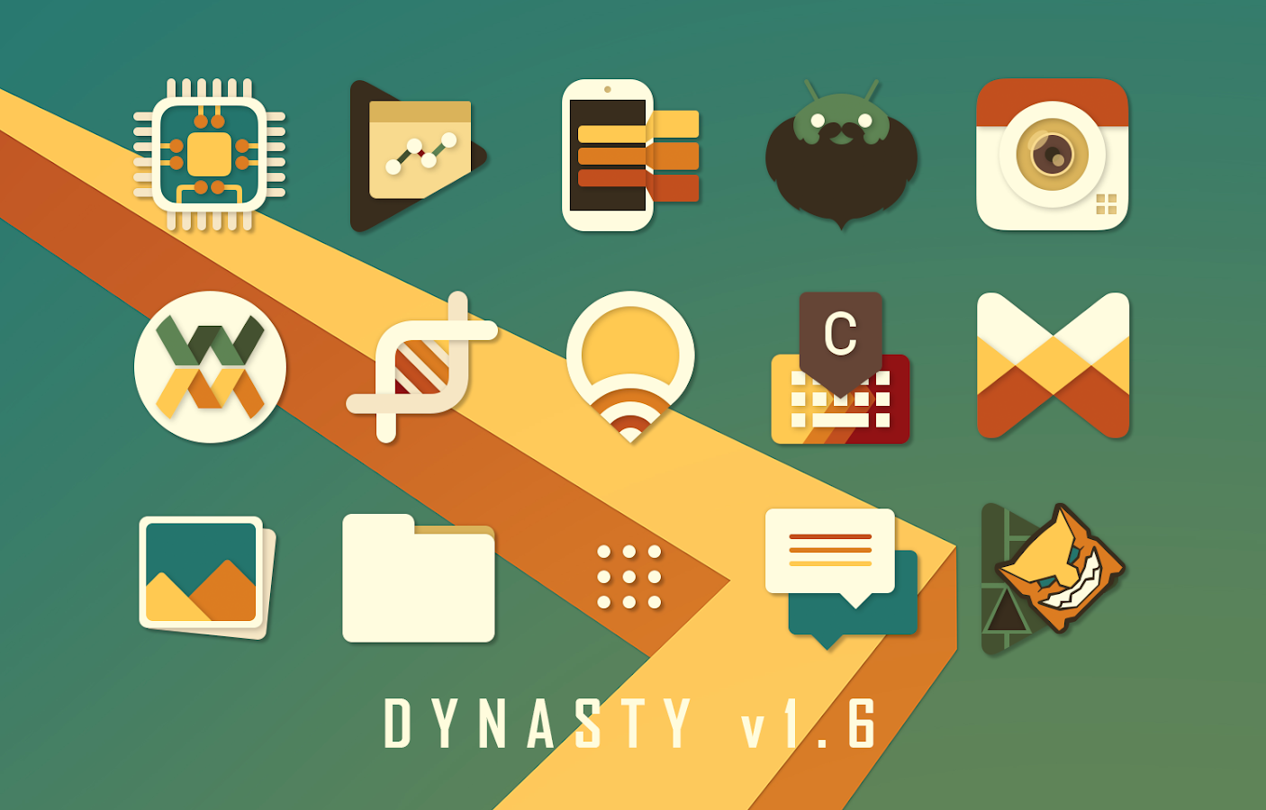 Dynasty Icon Pack Screenshot