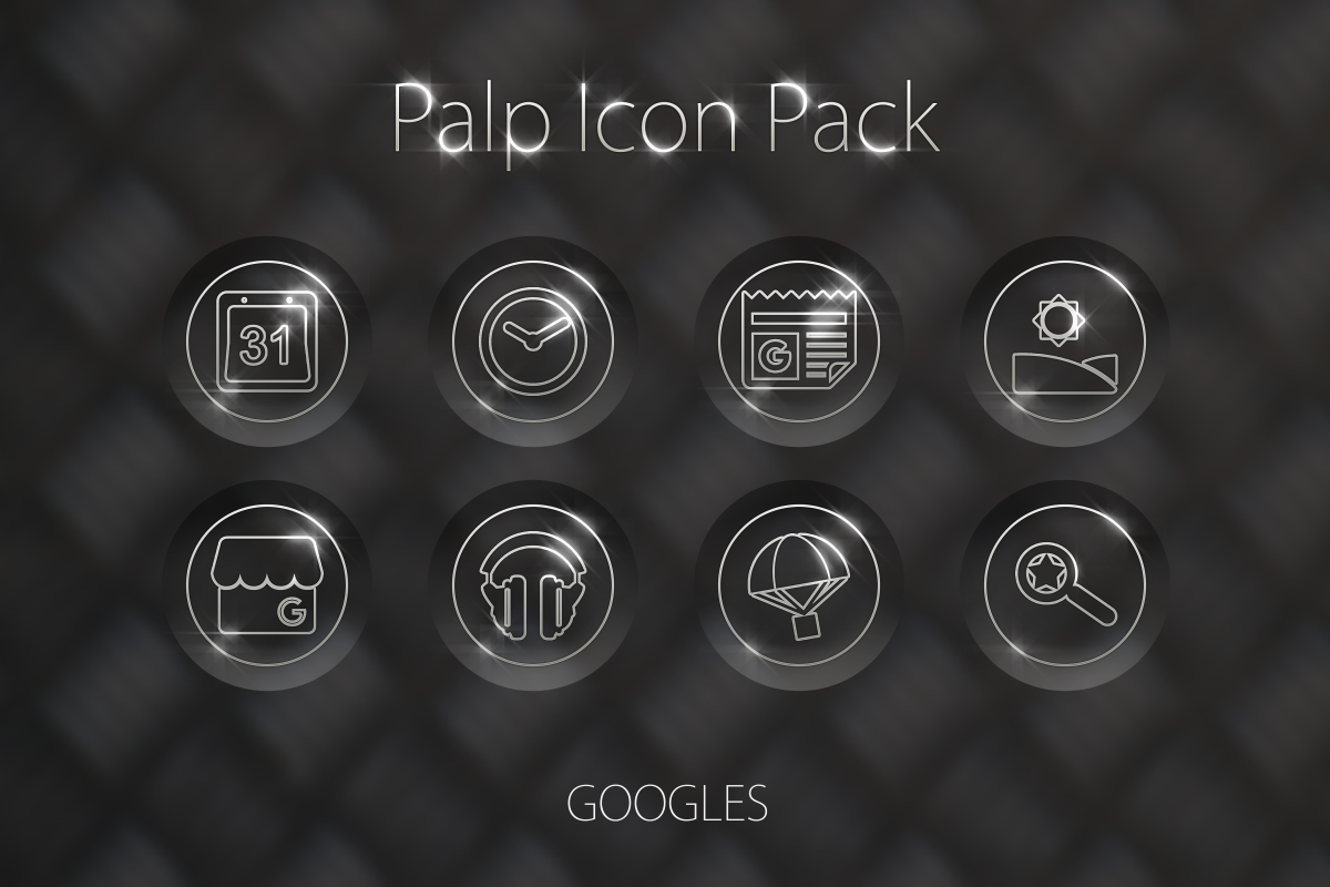 Palp Icon Pack Screenshot 10