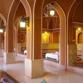 Best shish kebab restaurant by Zulkifli Khair - Buildings & Architecture Other Interior ( mashad, iranian food, shish kebab, iran, shandiz )