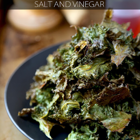 Kale Chips Recipe (Salt and Vinegar)