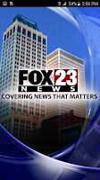 Screenshot of FOX23 News