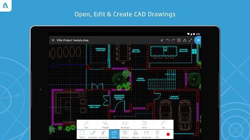 AutoCAD - DWG Viewer & Editor screenshot 8