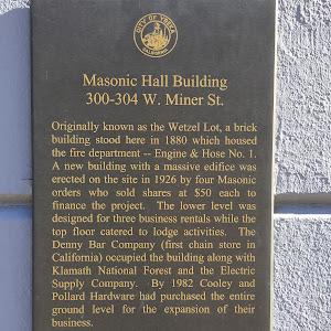 Masonic Hall Building