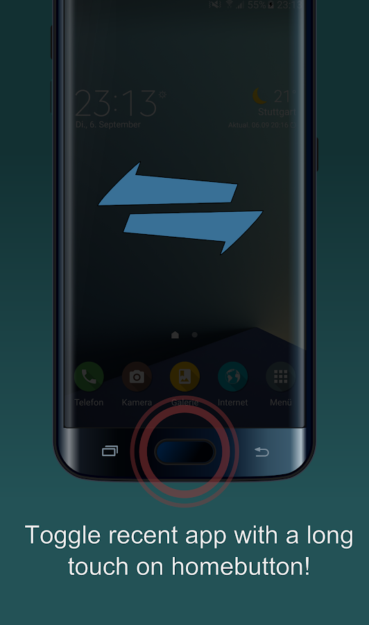 easyHome - Fingerprint Actions Screenshot 1