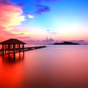 Siluet from my Island by Moh Maulana Lana - Landscapes Sunsets & Sunrises