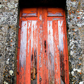 Old door by Gil Reis - Buildings & Architecture Other Exteriors ( doors, wood, buildings, stone )