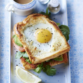 Fried Salmon And Eggs Recipes