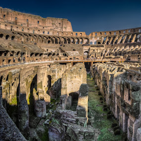Colosseum by Krasimir Lazarov - Buildings & Architecture Public & Historical ( building, colosseum, travel location, rome, historical, architecture, italy )