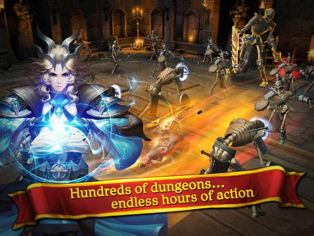 Clash for Dawn: Guild War Screenshot 4