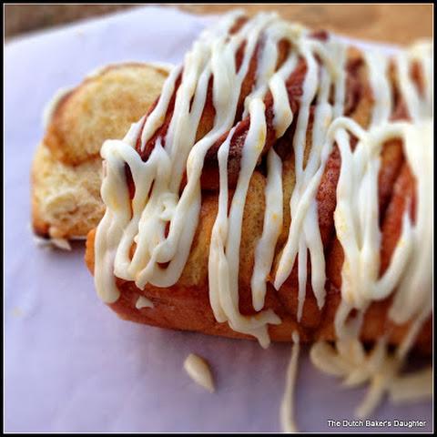 Orange Cardamom Pull-Apart Bread