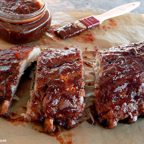 Honey Chipotle Glazed Ribs
