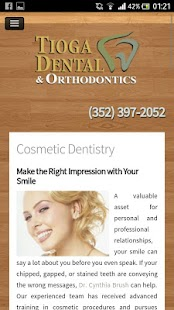 Tioga Dental & Orthodontics - screenshot