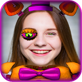 Photo Editor Booth Stickers for FNAF