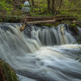 by Kathy Suttles - Landscapes Waterscapes ( spring, waterfalls, sutteimpressions, nature, washington, flowing,  )