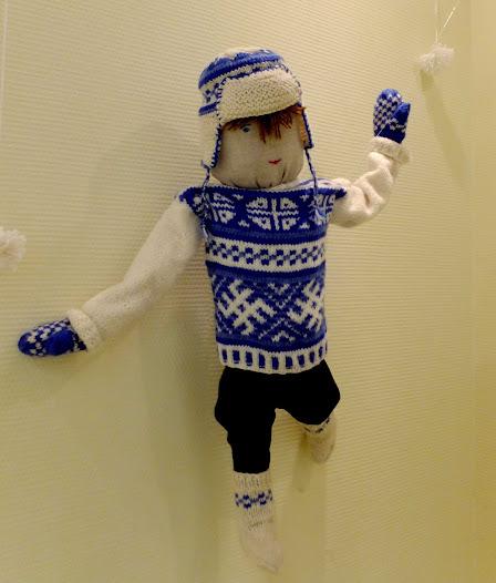 Мы придумывали имя этой кукле-мальчику. Его звали Исмо, Юко, но больше понравилось Петтери.
